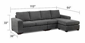 Brand new sectional need gone asap