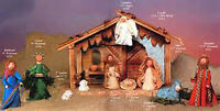 Kneaded ANgel Nativity Collection