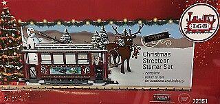 LGB 72351 G Christmas Trolley Starter Train Set, used for sale  Buford