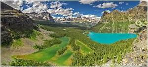 """Opabin Prospect -Lake O'Hara"" Canvas by Chris Collacott 30% Off"