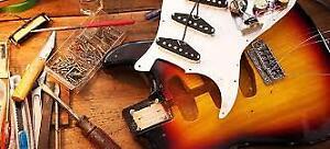 """Need guitar work done call """" Poor Boy Guitar Customs & Repair"""""""