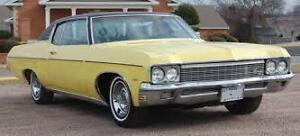 1966 to 1975 2 Door Chevrolet Impala or Caprice or Pontiac