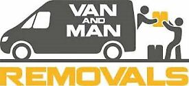 MAN WITH VAN FROM £20 ON HOUR ( CALL .. 07477673386