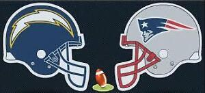 Patriots Chargers tickets Oct 29 2017