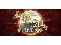 2 x Strictly Come dancing Live Tickets Birmingham Sun 22nd 6.30pm Floor row A seats!