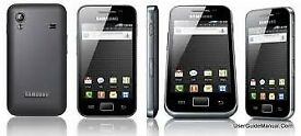 Samsung GALAXY Ace GT-S5830i - BLACK (Unlocked) Smartphone Android Phone_UK