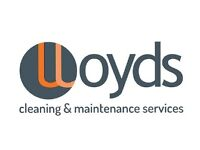 Cleaning Operative, up to £18,000