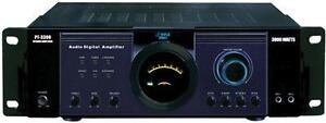 New - 3000 WATT PYLE PRO DIGITAL POWER AMPLIFIER - PLENTY OF POWER FOR YOUR PARTY - AMAZING SURPLUS PRICE !!