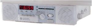 GE Spacemaker Radio with Cassette Player and Counter Light