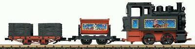 LGB 90203 Christmas Battery Powered G Gauge Steam Starter Train Set LN/Box