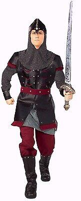 Medieval Warrior Knight Costume Mens Renaissance Roman Suit Halloween Adult - Knight Halloween Costumes