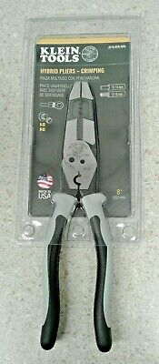 Klein Tools J215-8cr-sen New Hybrid Pliers - Crimping