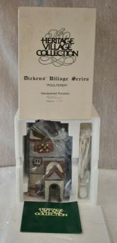 Dept 56 Dickens Village Series Poulterer Building 5926-9  Box Christmas 1988