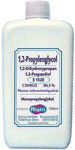 1,2 Propylenglykol 100 ml bis 80Liter Monopropylenglykol Propandiol hoch rein