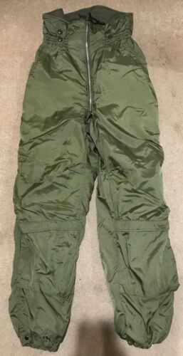 Vintage Vietnam Unused 1963 BUWEP US Navy Winter Flying Suit Pants Men
