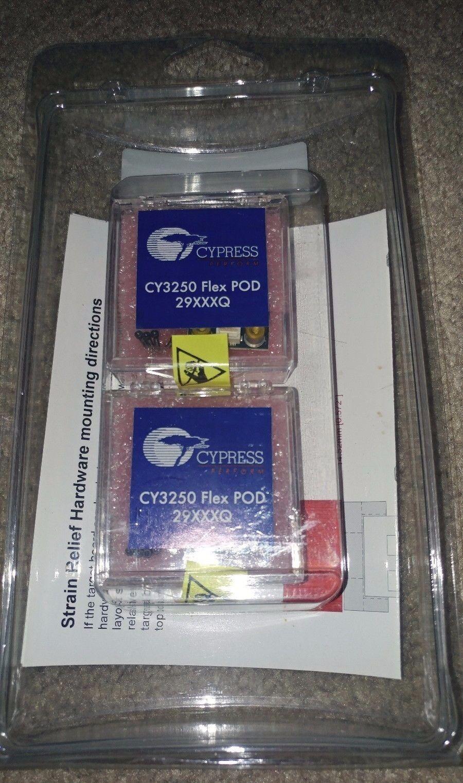 NEW-Cypress Pod CY3250-29xxx QFN with 2 Flex CY3250 POD 29XXXQ