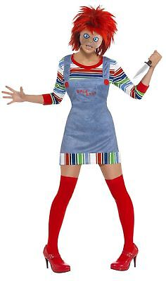SMIFFY 39099 Chucky Woman Lady TV Grusel Horror Karneval Halloween Damen Kostüm