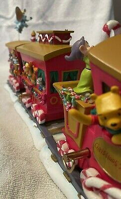 Disney Casey Jr Christmas Train Set w/ Mickey & friends 2000