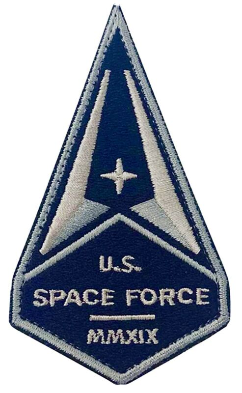 US SPACE FORCE PATCH Hook Back USA Military Department Of The Air Force MMXIX 4""