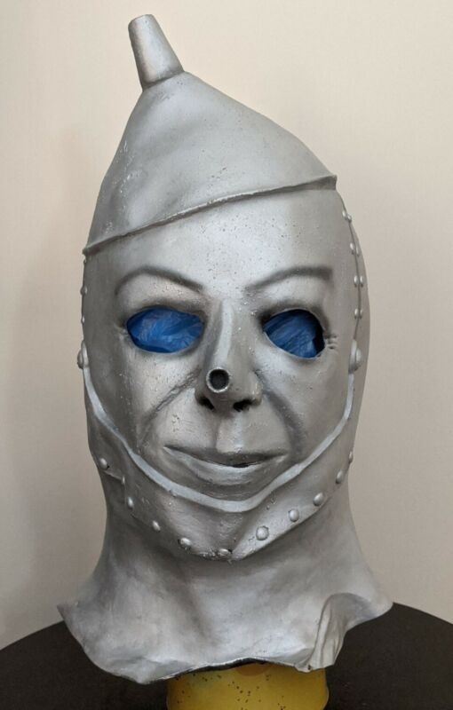 Don Post Tin Man Mask Halloween Distortions BSS Witch Wizard of Oz Myers Robot