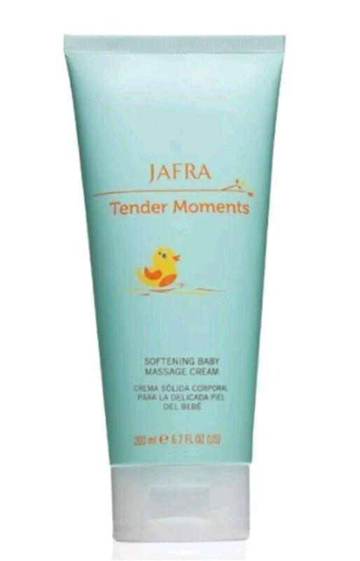 Jafra Tender Moments Fresh Softening Baby Massage Cream 6.7 OZ New & Sealed
