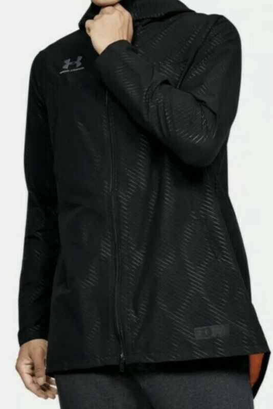 Under Armour New Men's Accelerate Terrace Hooded Jacket 1343911 XXL Black $120