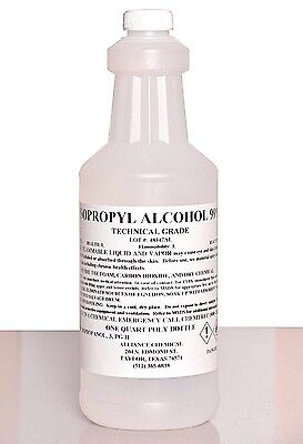 Isopropyl Alcohol 99 Technical Grade - 1 Quart Chemical Lab Supplies