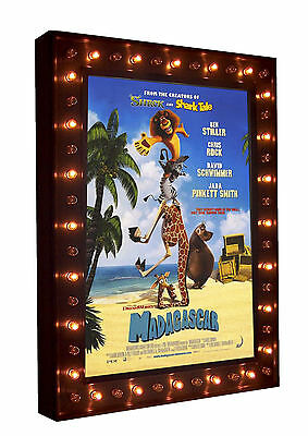 NEW! Home Theatre Movie Poster Lightbox LIGHT BOX Marquee