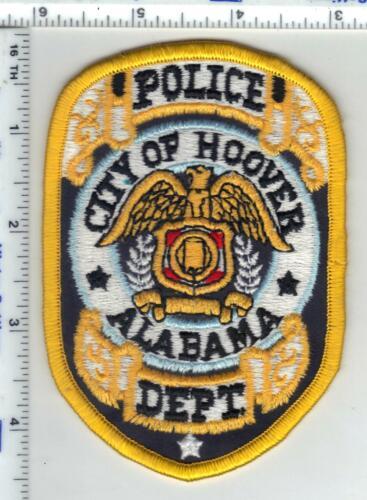 Hoover Police (Alabama) 2nd Issue Shoulder Patch