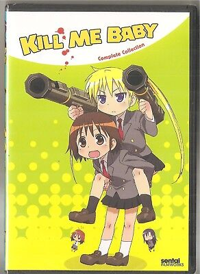 Anime Babys (Kill Me Baby: Complete Anime Collection (DVD, 2013, 3-Disc Set) BRAND NEW&SEALED)