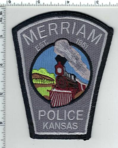 Merriam Police (Kansas) uniform take-off patch from the 1980