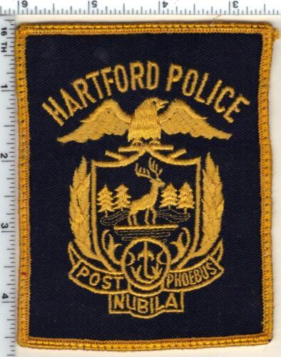 Hartford Police (Connecticut) Uniform Take-Off Shoulder Patch from 1989