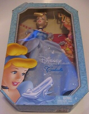 Disney Signature Collection: CINDERELLA Barbie Doll New In Box Damaged Box