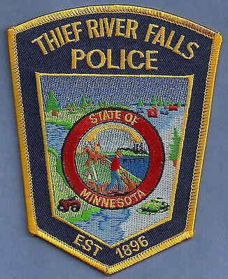 THIEF RIVER FALLS MINNESOTA POLICE PATCH
