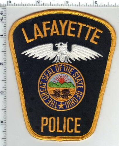 Lafayette Township Police (Ohio) 3rd Issue Shoulder Patch