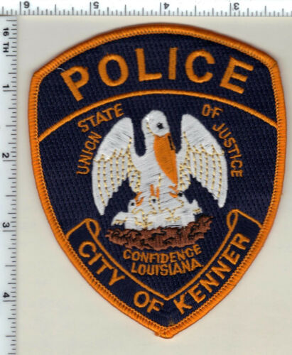 City of Kenner Police (Louisiana)  Shoulder Patch - new from 1993