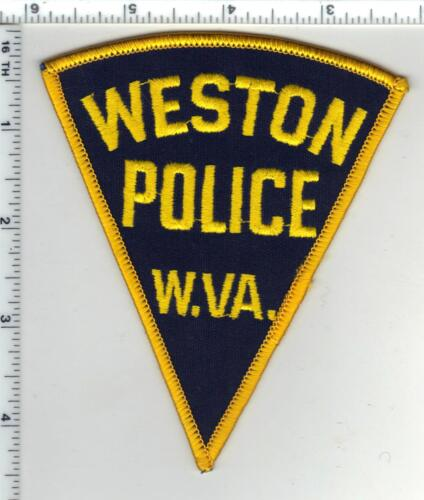 Weston Police (West Virginia) 2nd Issue Shoulder Patch