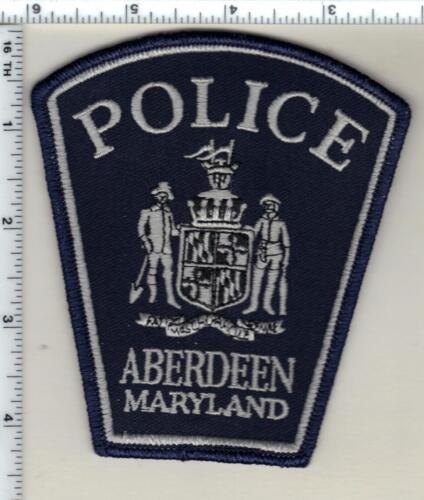 Aberdeen Police (Maryland) Shoulder Patch - new from the 1980
