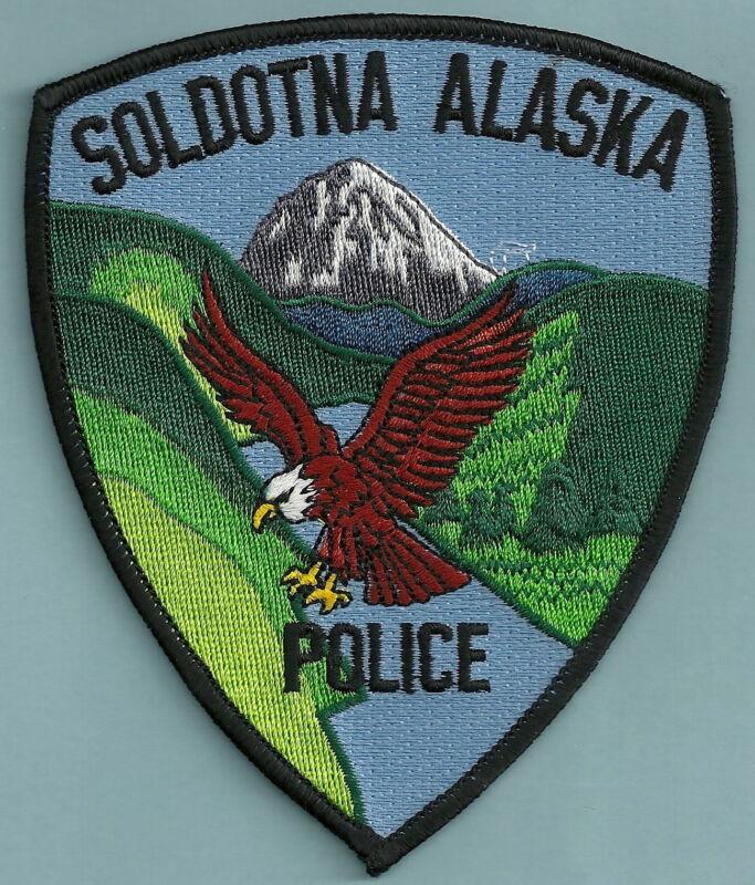SOLDOTNA ALASKA POLICE SHOULDER PATCH