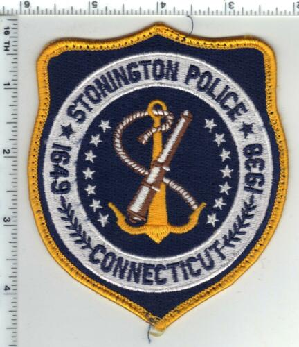 Stonington Police (Connecticut) Uniform Take-Off Shoulder Patch from the 1980