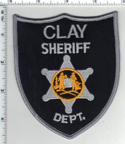 Clay Sheriff Dept. (West Virginia) 1st Issue Shoulder Patch