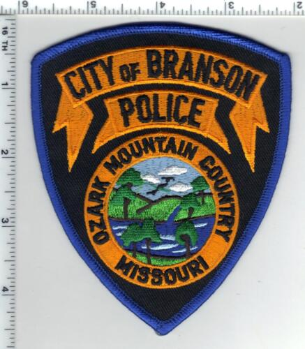 City of Branson Police (Missouri)  Shoulder Patch  from the 1980