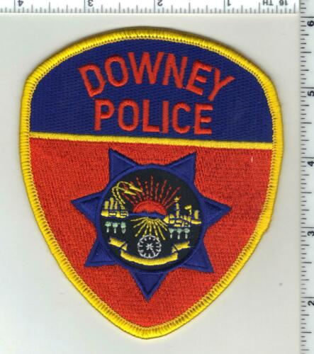 Downey Police (California) 4th Issue Shoulder Patch