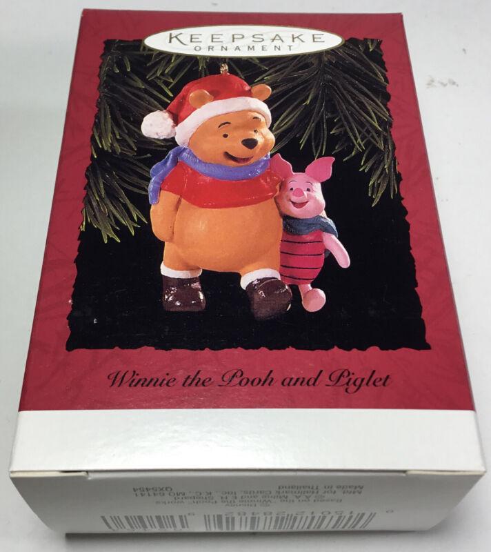 Hallmark Winnie The Pooh And Piglet Keepsake Ornament Dated 1996 New