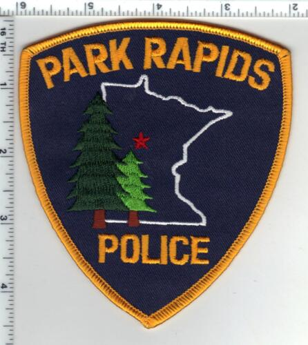 Park Rapids Police (Minnesota)  Shoulder Patch  - new from the 1980
