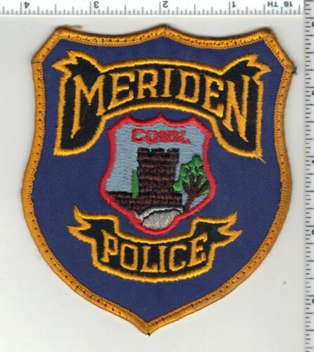 Meriden Police (Connecticut) 2nd Issue Uniform Take-Off Shoulder Patch