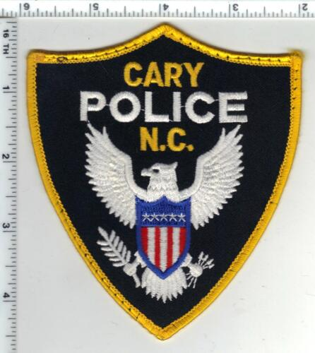Cary Police (North Carolina) Uniform Take-Off Shoulder Patch from the 1980
