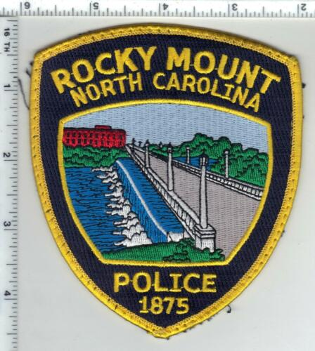 Rocky Mount Police (North Carolina) 3rd Issue Uniform Take-Off Patch