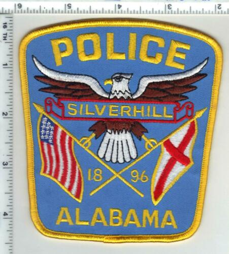 Silverhill Police (Alabama) 1st Issue Shoulder Patch