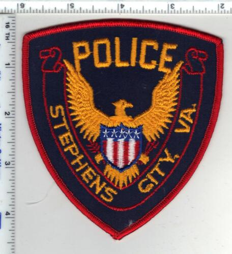 Stephens City Police (Virginia) 1st Issue Shoulder Patch